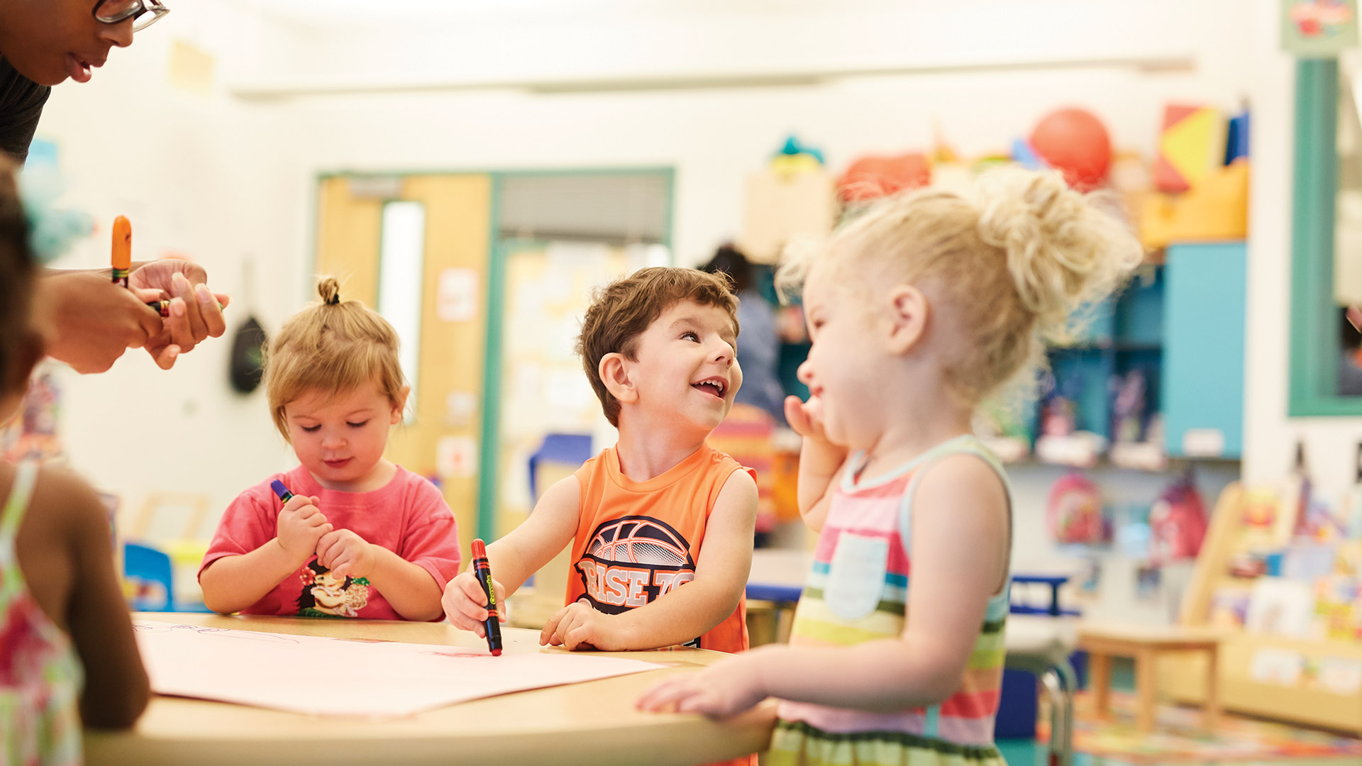 Therapeutic Preschooler Coloring