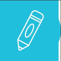 Blue Therapeutic Preschool Icon