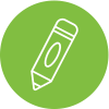 Green Therapeutic Preschool Icon